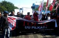 Demo Tolak Pilkada, Serbu DPRD Surabaya
