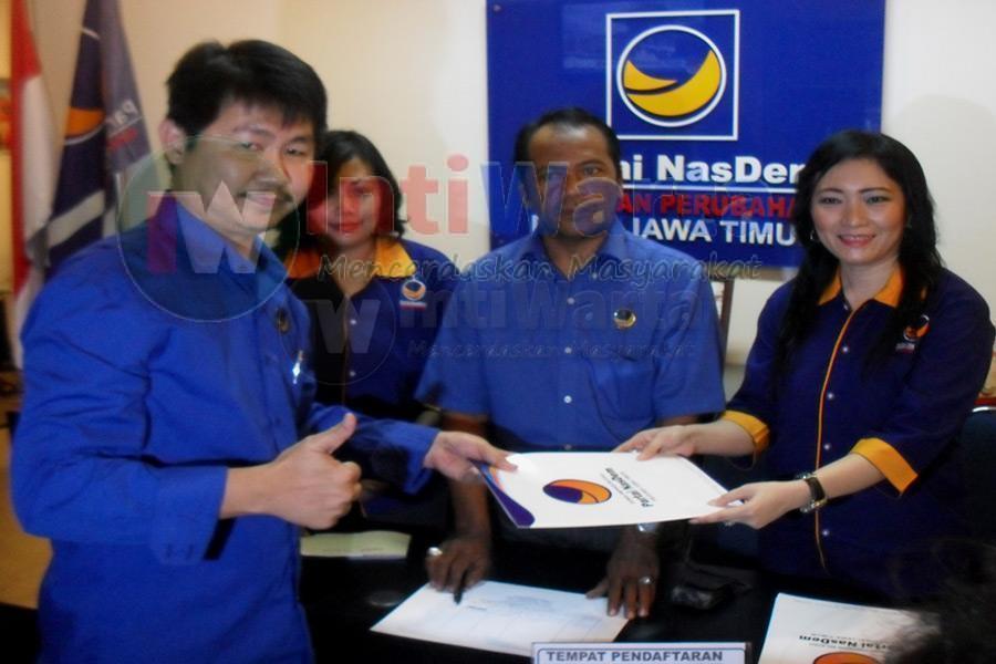 Vinsensius Awey Daftar Cawawali Surabaya