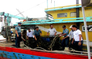 TNI-AL Tangkap Kapal Malaysia Curi Ikan