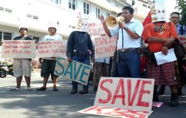 Ratusan Pecinta Satwa Demo Soal KBS di Hari Ibu
