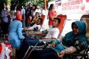 Donor Darah TMP Diserbu Warga Surabaya