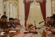 KPU Dan Bawaslu Lapor Presiden Jelang Pilkada