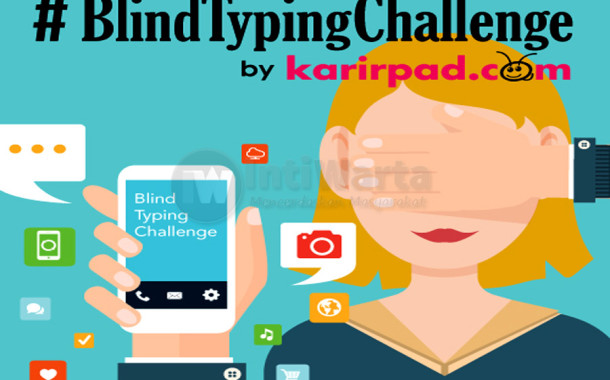 #BlindTypingChallenge, Hargai Penyandang Disabilitas