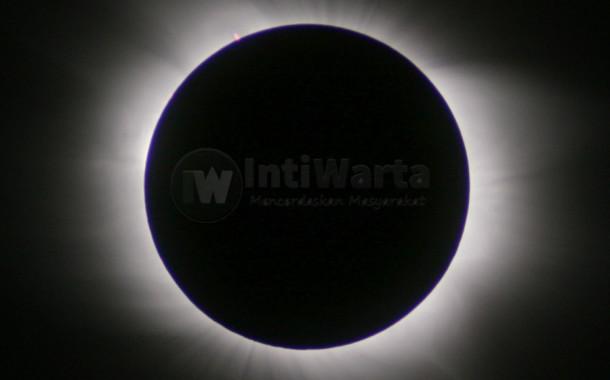 LAPAN Analisa Gerhana Matahari