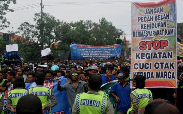 KJPL Desak Komnas HAM Turun Ke Lakardowo