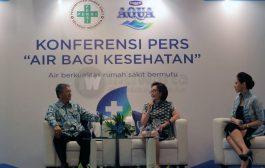 Danone Aqua Gandeng Persi Jaga Kualitas Air