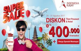 5uper 5ale Anniversary Indonesia Flight