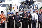 Jokowi Resmikan Pesawat N219 Nurtanio