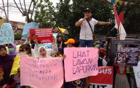 Warga Demo Lagi Apartemen Gunawangsa Tidar