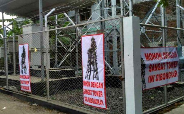 Puluhan Siswa TK Terancam Radiasi Tower BTS