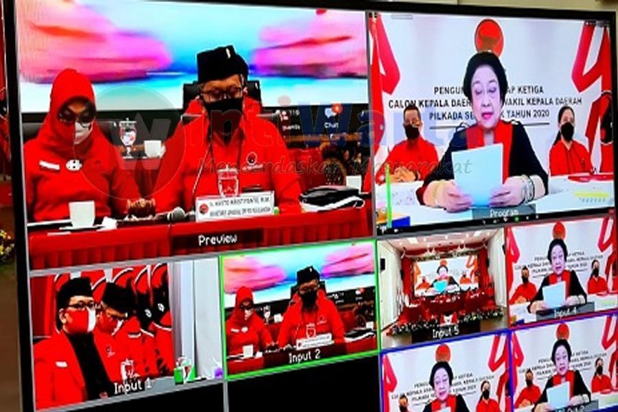 Bacawali PDIP Surabaya Berinisial P