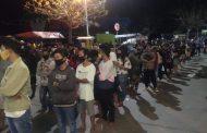 Pemkot Surabaya Gelar Rapid Test Di Jembatan Suramadu