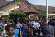 Polisi Demo, Wakapolda Ke Mapolres Pamekasan