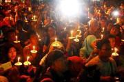 Doa Bersama Warnai Tahun Baru Di Surabaya