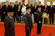 Presiden Lantik Tiga Plt Pimpinan KPK