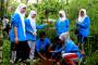 Pelajar Wonosalam Tanam Pohon Di Mata Air