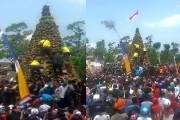 Tumpeng Durian Raksasa Dari Wonosalam