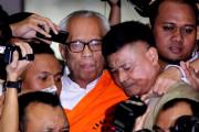 OC Kaligis Ditahan, Gedung KPK Ricuh