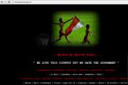 Situs Basarnas Dihack Diisi Lagu Bongkar