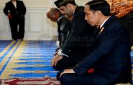 Sebelum Pulang, Jokowi Kunjungi Masjid IMAAM