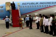 Sesudah Sholat Jumat, Presiden Ke Lampung