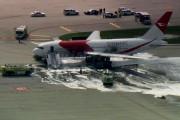 Pesawat Air Dinamis Terbakar Di Fort Lauderdale