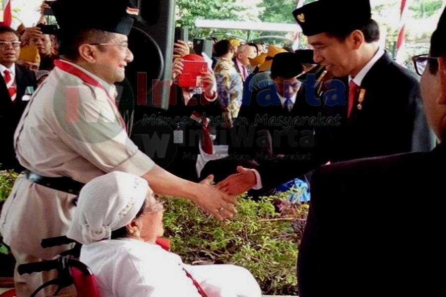 Presiden : Jangan Lelah Cintai Indonesia