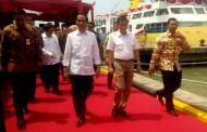 Jokowi Resmikan Kapal Pengangkut Ternak