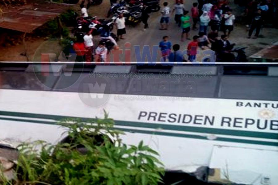 Bus Mahasiswa Unand Terguling, Puluhan Luka