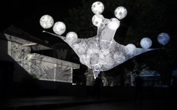 Wayang Layang Buka Printemps Festival 2016