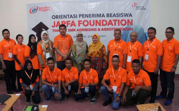 JAPFA Foundation Beri Beasiswa 50 Siswa SMK