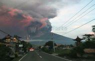 Aktivitas Gunung Agung Terus Meningkat