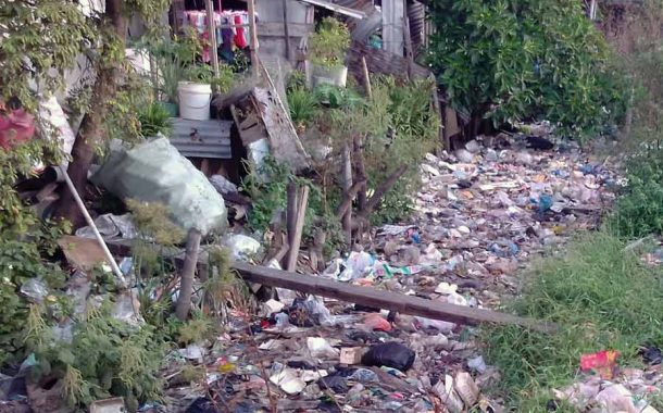 Kali Tambak Pring Surabaya Tercemar