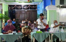 Jajar Tunggal Sosialisasi PSBB Ke Warga