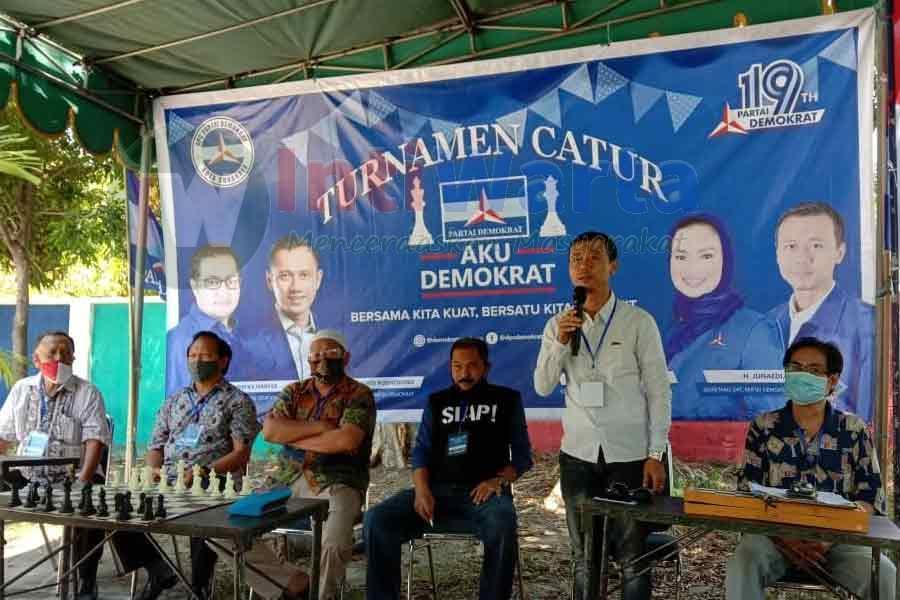 Hari Jadi Ke-19 Partai Demokrat Gelar Lomba Catur