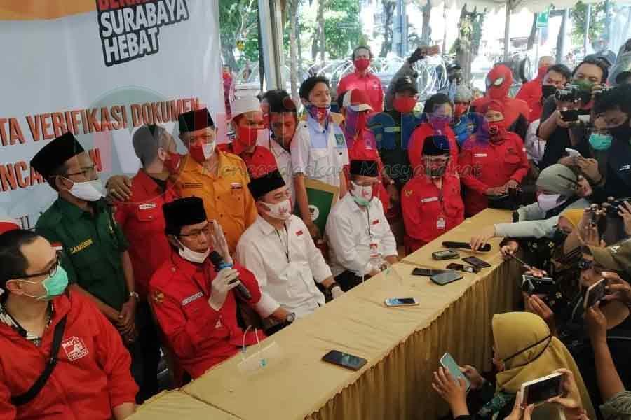 PSI Ikut Beri Dukungan Untuk Eri-Armuji