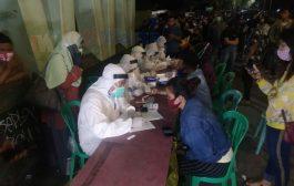 Ratusan Orang Terjaring Razia Covid-19 Di Suramadu